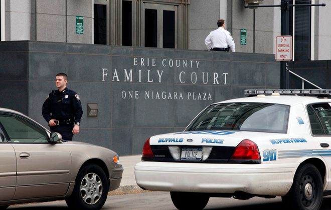 New York State should follow Erie County's lead in restricting the circumstances under which young children appearing in family court can be placed in shackles. (Derek Gee/Buffalo News)