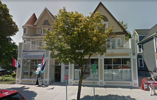 Adam Backus bought this building on Elmwood Avenue from Alfonse Muto.