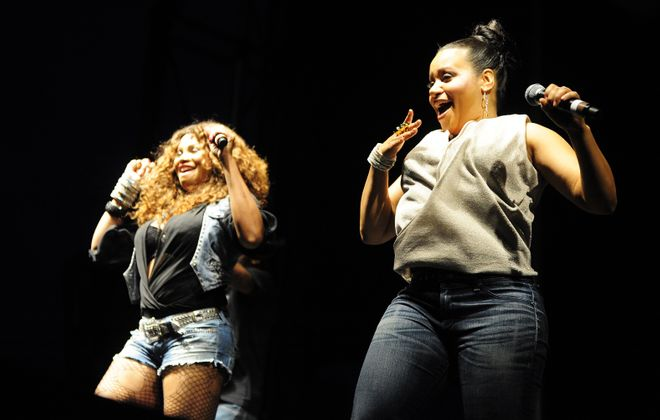 Salt-N-Pepa performed one of the most memorable Thursday at Canalside shows of the last decade, back in 2012. The electric pair is back to perform as part of the I Love the '90s Tour. (News file photo)