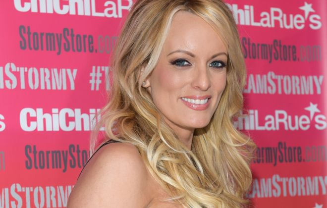 Stormy Daniels has canceled her Western New York appearance. (Getty Images)