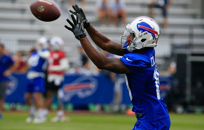 Corey Coleman was released by the Bills on Saturday just weeks after being acquired in a trade. (Harry Scull Jr./Buffalo News)
