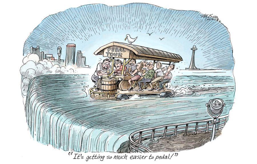 Adam Zyglis Cartoon Caption Contest: August 2018 winners