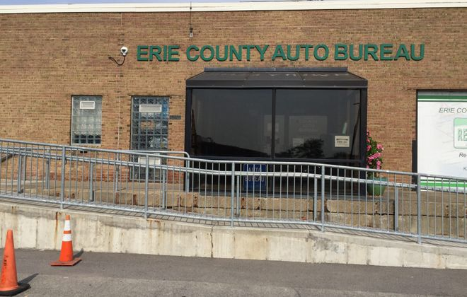 The Erie County Auto Bureau at ECC South Campus is closing Friday, but a new one is opening in West Seneca. (Barbara O'Brien/Buffalo News)