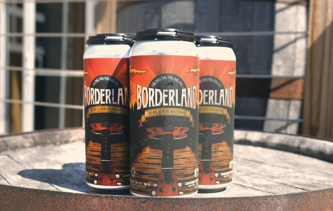 Borderland Music and Arts Festival will have two beers brewed specifically by 42 North. (via 42 North)