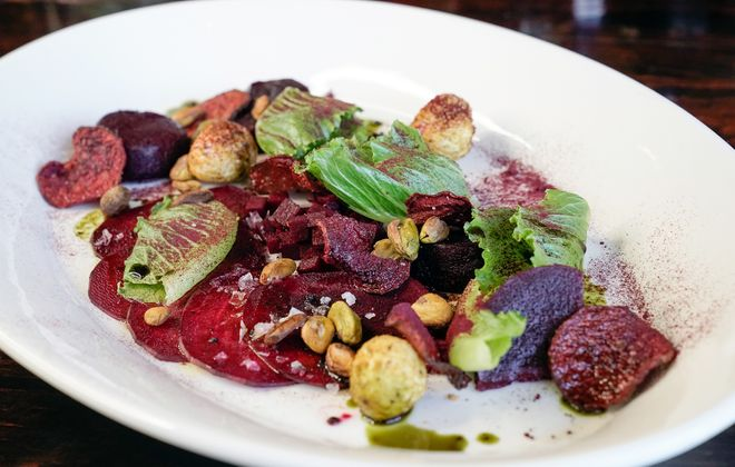 The Beets 5 Ways salad from The Black Sheep. (Dave Jarosz)