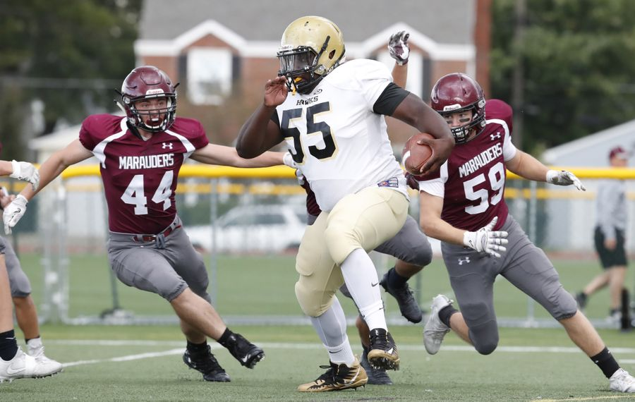 Cardinal O'Hara Stephen Boyd Jr. (55) is coming off a season in which he earned All-Western New York honorable mention. (Harry Scull Jr./The Buffalo News)