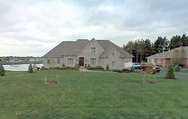 This home in Orchard Park was purchased by Dan Morgan, the Bills' new director of player personnel. (Google Maps)