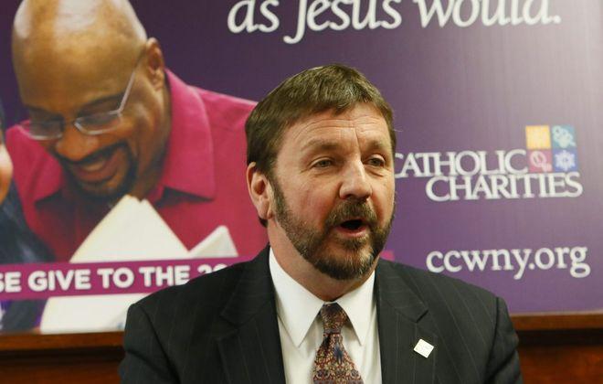 Dennis Walczyk, the CEO of Catholic Charities. (Derek Gee/News file photo)