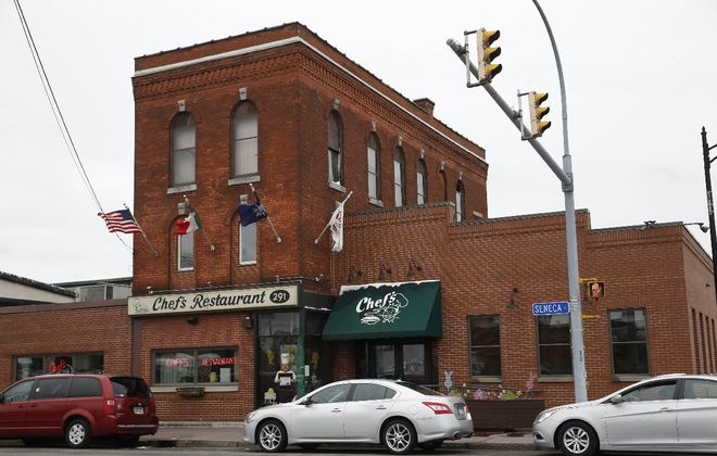 Chef's Restaurant on Seneca Street opened in 1923. (Sharon Cantillon/Buffalo News)
