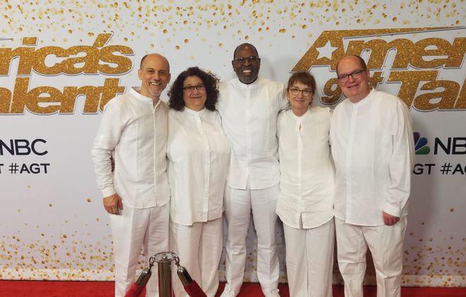 Bob Fiorella, Rose Matic, Jimmer Bolden, Kathy Jackson, Gordon Glor (left to right)
