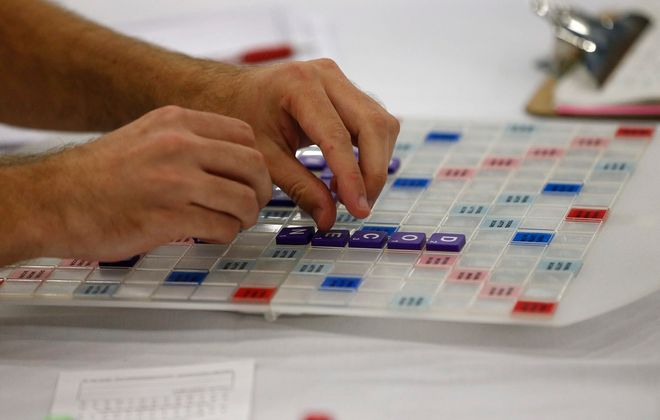 The North American Scrabble Championship was held in Buffalo this week.  (Derek Gee/News file photo)