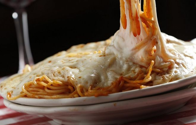 Spaghetti parm was invented at Chef's Restaurant. (Sharon Cantillon/News file photo)