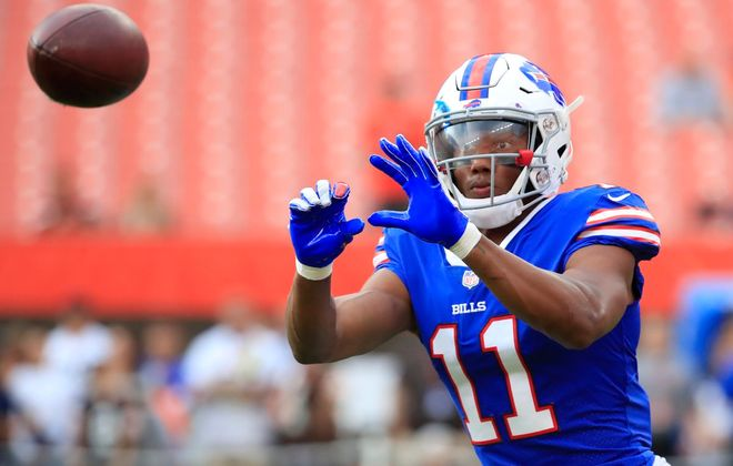 Bills wide receiver Zay Jones. (Harry Scull Jr./News file photo)