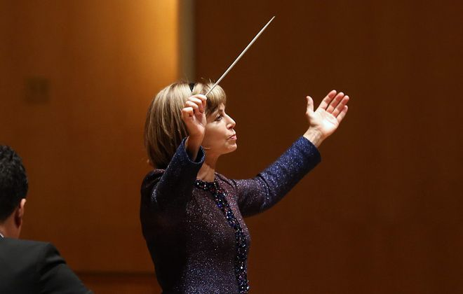 The performance of Mozart's Requiem by the Buffalo Philharmonic  Orchestra, under the direction of JoAnn Falletta, was one of the most anticipated concerts of the season. (Sharon Cantillon/News file photo)