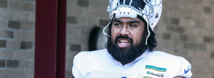 Defensive tackle Star Lotulelei. (James P. McCoy/News file photo)