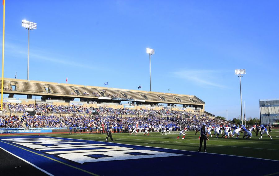 Beer sales will be expanded at UB Stadium when its football season opens later in August. (Harry Scull Jr./News file photo)