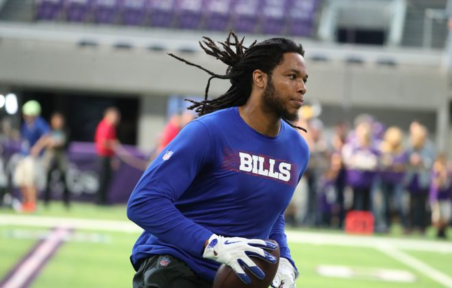 Bills wide receiver Kelvin Benjamin did not get claimed on waivers Wednesday. (James P. McCoy/News file photo)