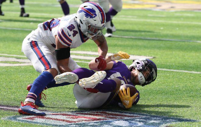 Taron Johnson is the Bills' top slot cornerback. (James P. McCoy/Buffalo News)