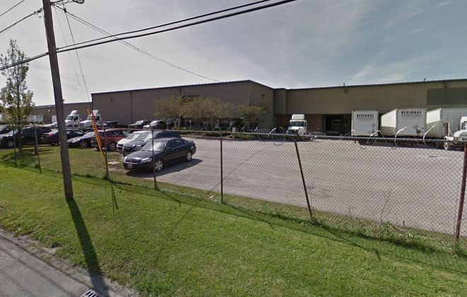 This warehouse facility on Dart Street was acquired by a group of Brooklyn investors. (Google Maps)
