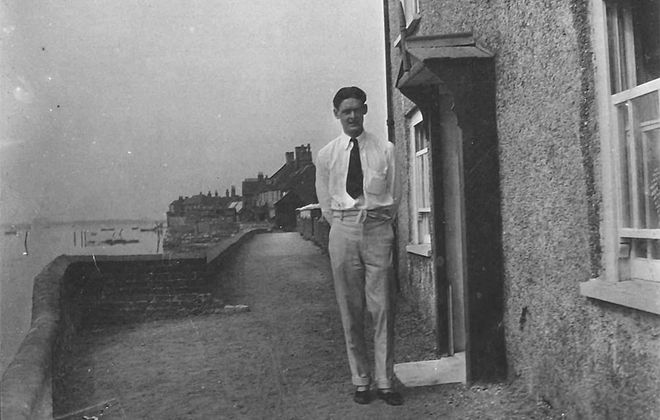 T. S. Eliot in 1916 (The Estate of T. S. Eliot)