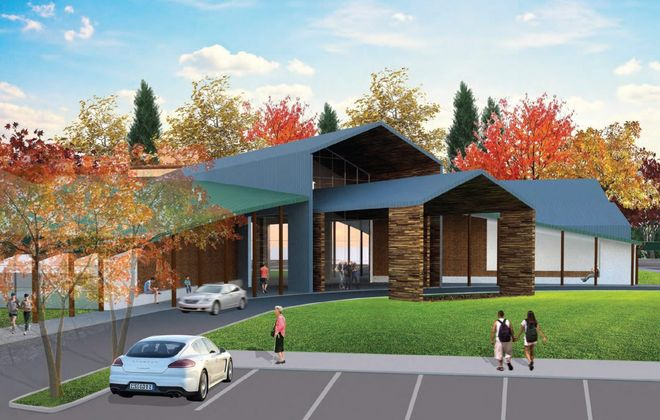 Ground is to be broken next month for Orchard Park's Community Activity Center.