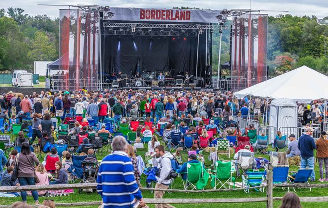 Send us your band information for a chance to be on the stage when The Borderland Music + Arts Festival returns in September. (Don Nieman/Special to The News)