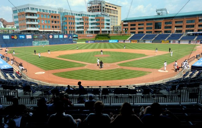 Durham Bulls Athletic Park won't host any games in the Governors' Cup finals due to Hurricane Florence. (Getty Images)