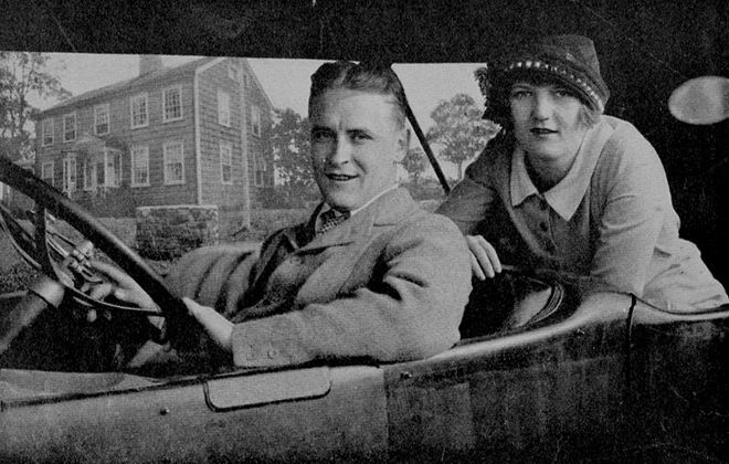 F. Scott Fitzgerald and his wife Zelda in 1920.