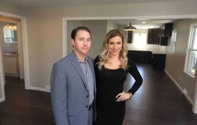 """Christopher and Lorissa Naugle's pilot episode of """"Risky Builders"""" is being repeated at 8:30 p.m. Thursday on HGTV. (John Hickey/News file photo)"""