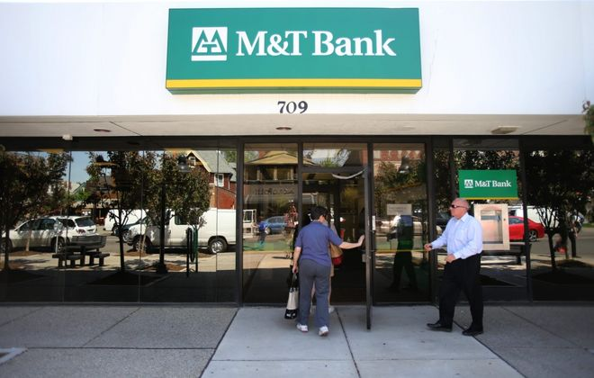 M&T Bank will limit access to its branches.(News file photo)