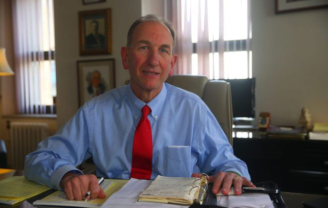 Former Buffalo Comptroller Mark J.F. Schroeder is the state's new DMV commissioner. (John Hickey/News file photo)