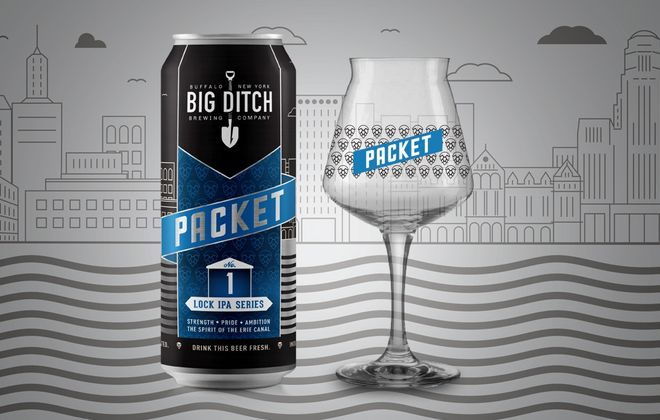 Big Ditch Brewing's Packet IPA will be released in cans, and a limited number of Teku glasses will be available, too. (via Big Ditch)