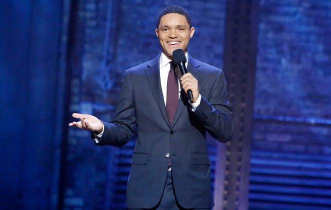 """Trevor Noah of """"The Daily Show"""" performs at the Seneca Niagara Casino Events Center. (Getty Images)"""
