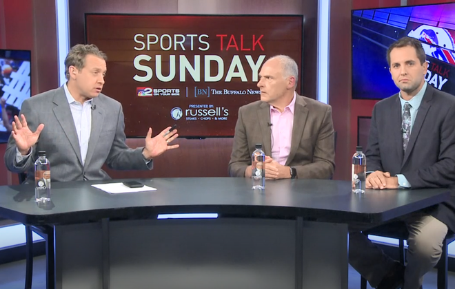 Watch: Vic Carucci, Jay Skurski talk Bills vs. Chargers on WGRZ