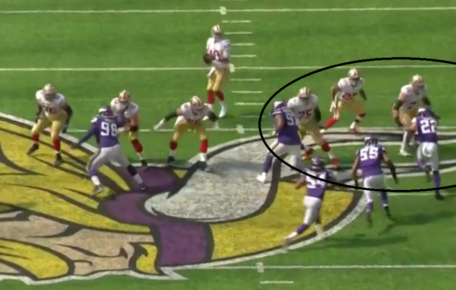 Play to Watch: Vikings safety blitz