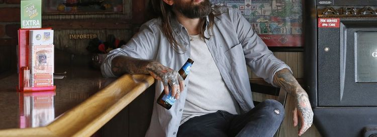 Every Time I Die's Keith Buckley, pictured, and Steve Micciche will spin tunes in the Rec Room. (Robert Kirkham/News file photo)