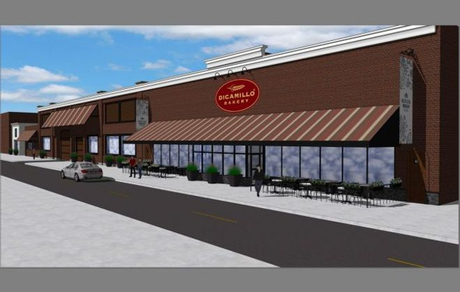 DiCamillo's Bakery in Niagara Falls was one of the winners in the first round of city small business support grants. This is a rendering of its expansion plan.(Contributed photo)