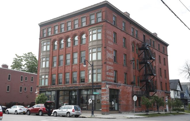 Perks plans to open in the Horsefeathers Building.  (Sharon Cantillon/Buffalo News)