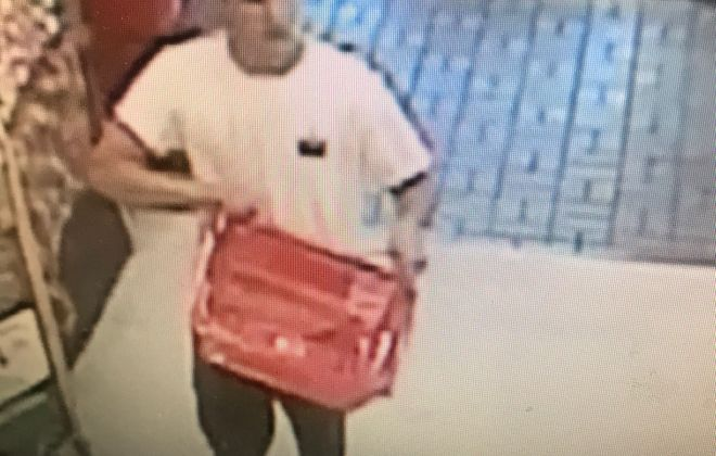 City of Tonawanda police released this image of a man they suspect was involved in a hit-and-run on Wednesday, Sept. 19. (Courtesy of the City of Tonawanda Police Department)