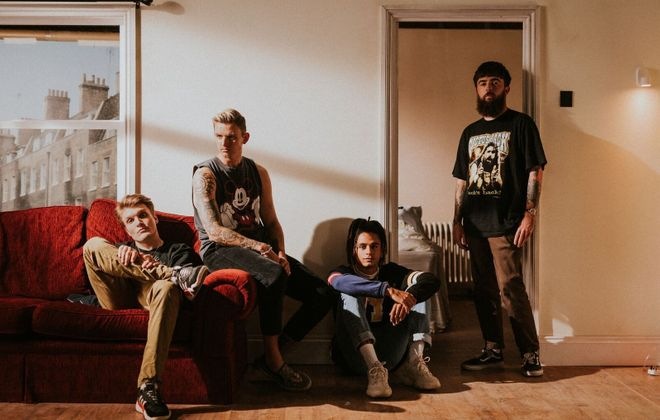 The Welsh band Neck Deep will be at the Town Ballroom.