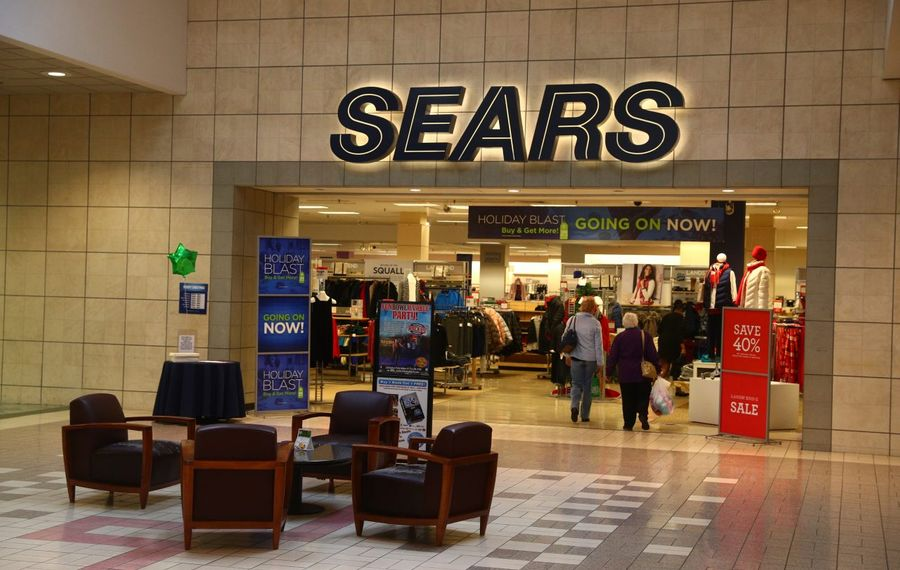 The Sears store at Eastern Hills Mall will close after Christmas. (John Hickey/Buffalo News)