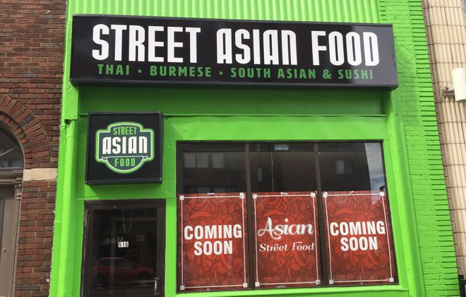 Street Asian Food plans to start offering its Thai and Burmese selections on Oct. 1. (Andrew Galarneau/Buffalo News)