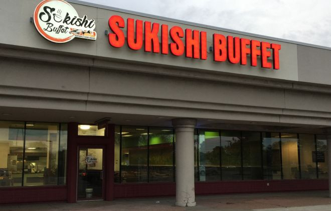 Sukishi Buffet's goal is to open by the end of September. (Andrew Galarneau/Buffalo News)