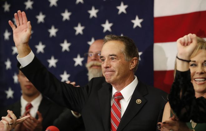Chris Collins is not the only indicted member of Congress running for re-election. (Harry Scull Jr./News file photo)