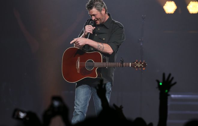 Country star Blake Shelton put on a rousing show in then-First Niagara Center in 2016, He's announced another Buffalo stop. (Sharon Cantillon/News file photo)