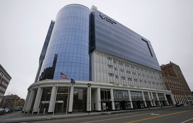 Delaware North's headquarters at 250 Delaware Ave. (Derek Gee/Buffalo News)