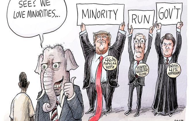 Minorities: October 13, 2018