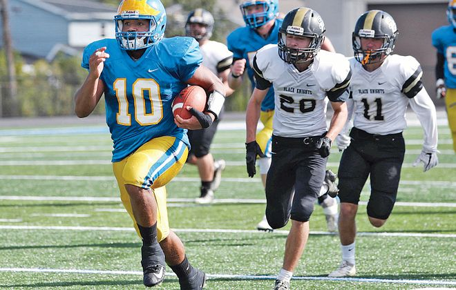 Aaron Wahler is coming off a four-touchdown performance for Cleveland Hill. (Sharon Cantillon/Buffalo News file photo)