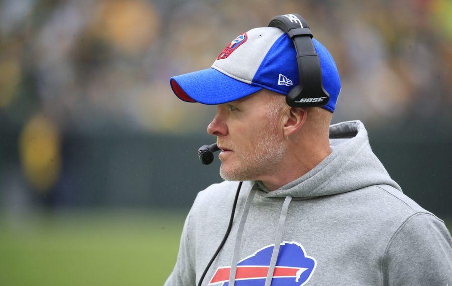 Bills coach Sean McDermott has his team off to a 9-3 start this season. (Harry Scull Jr./News file photo)