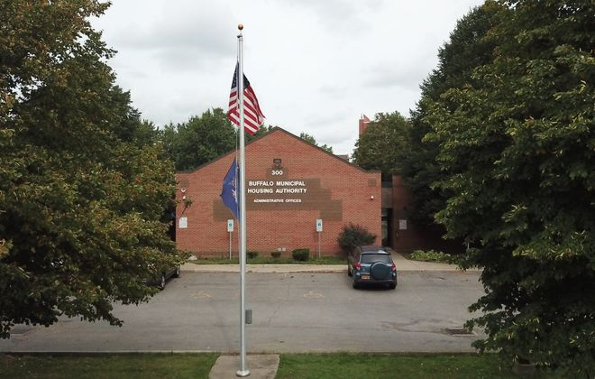The Buffalo Municipal Housing Authority headquarters. (John Hickey/News file photo)